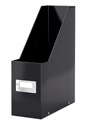 - Leitz Click & Store Storage Box, File Folder, Magazine Organizer, Collapsible, Patented Design, Bin, Cabinet, Desk Organizer, Black (60470095)