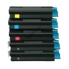 AIM Compatible Replacement - Okidata Compatible C5100/5510 Toner Cartridge Combo Pack (2-BK/1-C/M/Y) (TYPE C6) (4212742B1CMY) - Generic