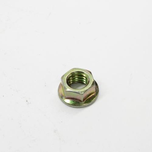 Scag 04019-04 Nut, 3/8-16 Serrated Flange HH Zinc ()