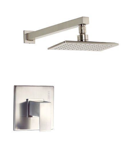 Danze D500562BNT Mid-Town Single Handle Shower Trim Kit, Brushed Nickel
