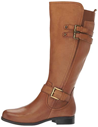 Naturalizer Jessie Wide-Calf Leather Boots