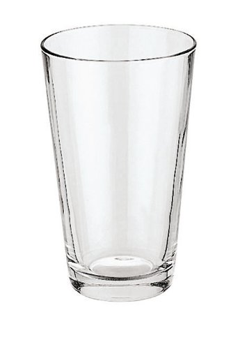 Paderno World Cuisine Spare 16-7/8-Ounce Glass for Boston CocktailShaker