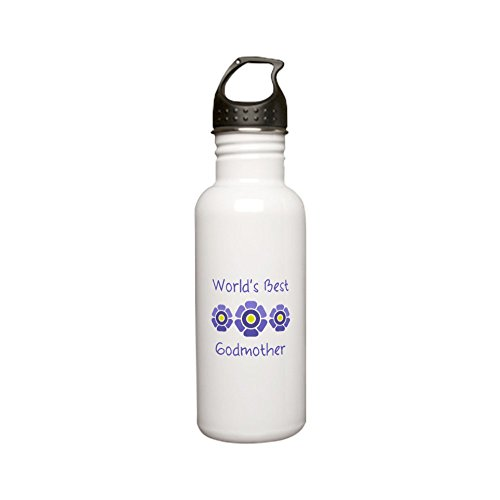 CafePress Worlds Godmother Stainless Bottle