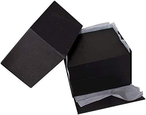 YHLZ Contenitore di vigilanza, Holder Watch Box Organizzatore Pillow Box Grande a Fogli mobili Jewelry Box Premium Glossy Legno (Contiene 1 Watch)