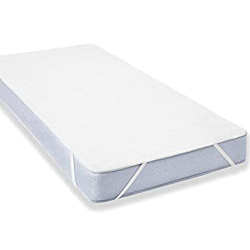 Impermeable Colchón para niños (60 x 120 cm) – Baby Cama Transpirable, antirreflejos