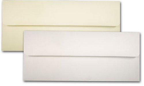 - Natural No. 10 Square Flap Envelopes - 50 Pack