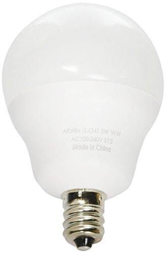 Albrillo Candelabra Bulbs Equivalent White