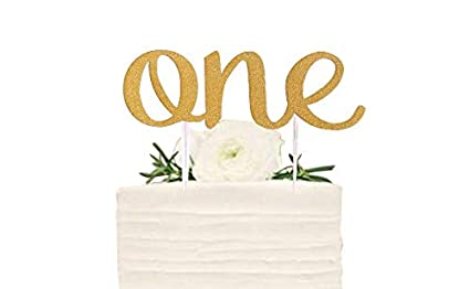 Amazon First Birthday Cake Topper Decoration