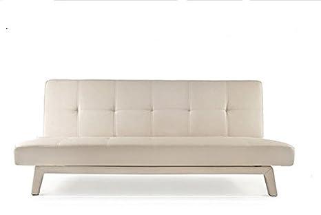 Frizzo Sofá Cama 180 x 80 cm sintética 3 plazas reclinable ...