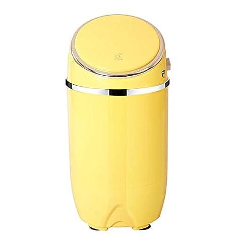 Sunjun Mini Lavadora, Lavadora De Ropa Compacta Portátil para Niños Caravanas Al Aire Libre para Niños Pequeños Apartamentos De Viaje 3.5Kg Capacidad De Lavado (Color : Pink)