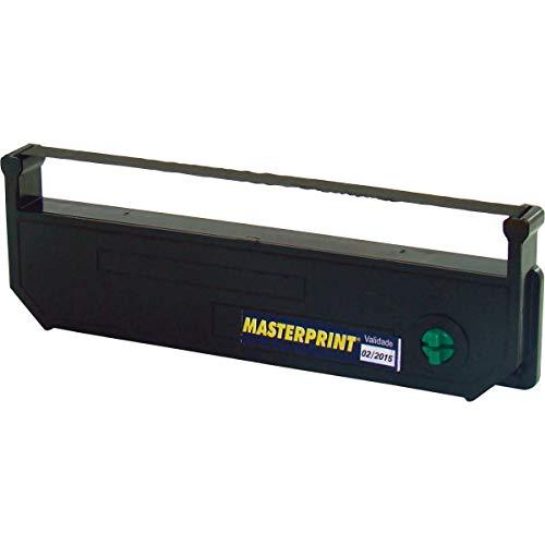 Fita Para Impressora Cmi 600 Haste Curta Preta - Caixa com 8, Masterprint, 1021003, Preto