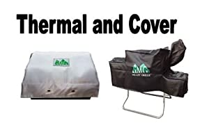 Green Mountain BBQ Davy Crockett Cover & Thermal Blanket Combo made by  epic GMG