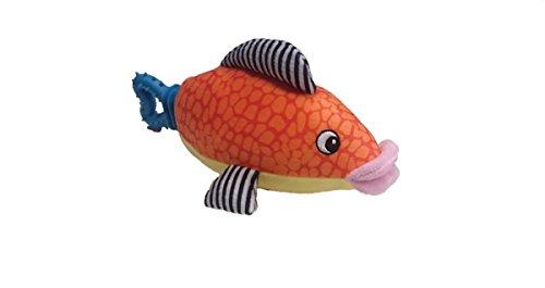 "SPOT Ethical Pets 54272 Plush Nubbins Fish Plush Dog Toy, 10"""