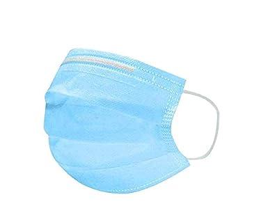 N95,Mascarilla antipolvo,Mascarilla quirúrgica,100 piezas Conjunto de máscaras quirúrgicas desechables,(Sin caja de cartón)