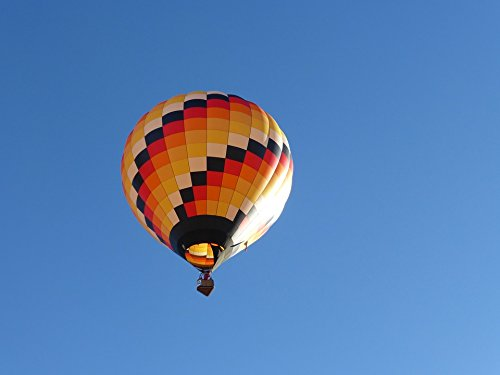 Home Comforts Canvas Print Hot Air Balloon Arizona Page USA Color Light Stretched Canvas 10 x 14
