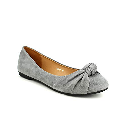 Look Grises Chaussures Ballerines Cinks Cendriyon Femme Gris q67fx