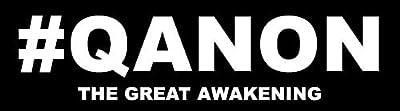 American Vinyl #QANON Great Awakening Bumper Sticker (q anon i reddit trump)
