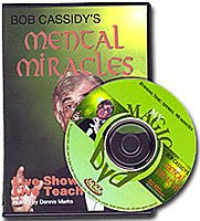Mental Miracles Bob Cassidy, DVD by Meir Yedid Magic