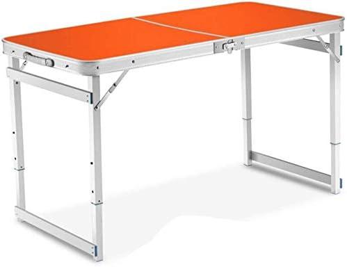 LICCC Mesa Plegable Mesa al Aire Libre Mesa Plegable de Aluminio ...