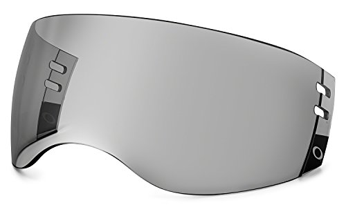 Oakley Aviator Pro Cut Hockey Visor, Grey, One -
