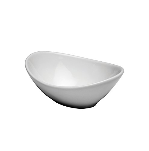(Oneida Foodservice F8010000758 Bright White Oval Chefs Toys Bowl 8 3/4 In (Set of 24))