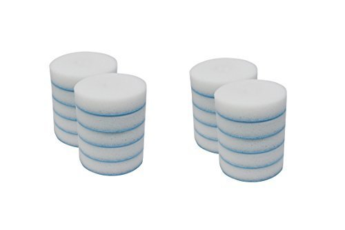Mr. Clean 240546 Magic Eraser Toilet Scrubber Refill Discs, (2 packs of 10 = 20 Disks) by Mr. Clean
