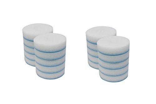 Mr. Clean 240546 Magic Eraser Toilet Scrubber Refill Discs, (2 packs of 10 = 20 Disks)