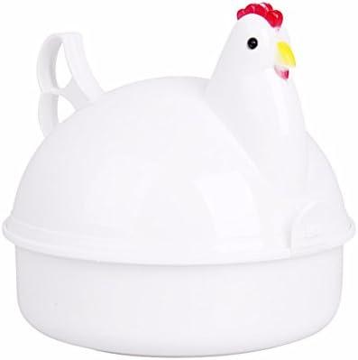 BESTONZON Huevo Caldera eléctrica huevo cocina forma de pollo ...
