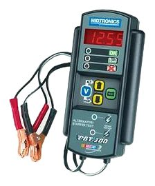 Midtronics PBT300 is the best Midtronics battery tester for DIYers and enthusiasts who frequently work on 12V car batteries.