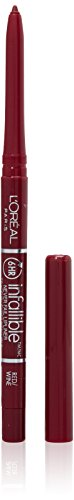 L'Oreal Infallible Never Fail Lipliner, Red/Wine [307] 1 ea (Pack of 3) by L'Oreal Paris