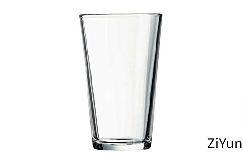 ZiYun Premium glass, Hot and Cold Cups, White