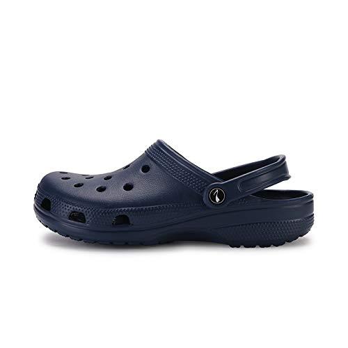 Antidérapantes Légères 42 Mesh Trou Sandales De Chaussons Pantoufles Llttklthj Plage Pantoufles Chaussures Bleues Et Respirant f1nO6B