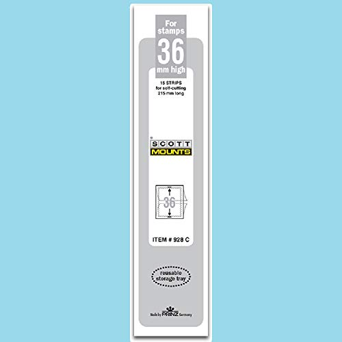 Scott or Prinz 36x215 Clear Stamp Mounts Scott # 928C