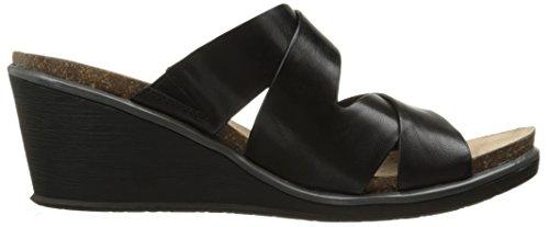 Baretraps Womens Nealy Wedge Sandale Noir