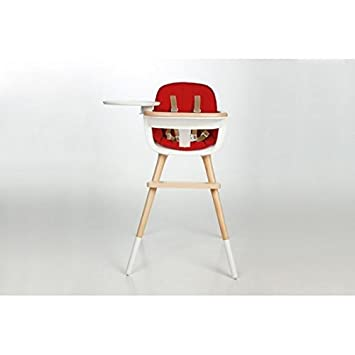 Micuna OVO MAX LUXE High Chair With Seat Fabric In Red