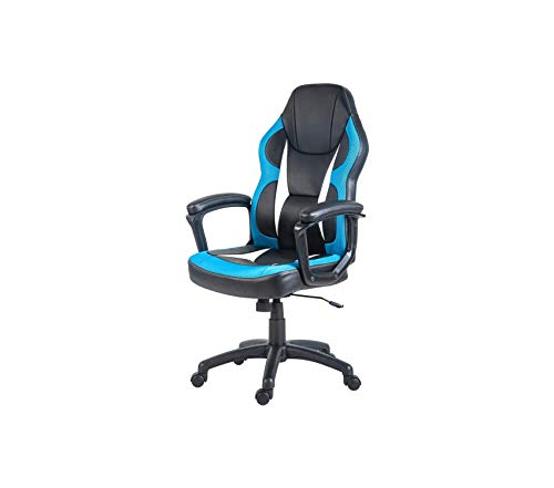 (Premium Gaming Chair Racing Style Computer Chair Ergonomic PU Leather Swivel Chair for Home and Office)