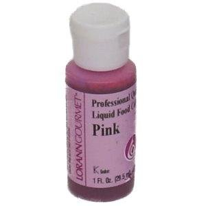 Amazon.com: LorAnn Pink Liquid Food Color, 1 Ounce: Kitchen & Dining