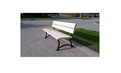 Panchine Da Giardino Legno E Ghisa : Sellon mobili da giardino panchina piedi in ghisa panca da