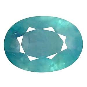 Deluxe Gems 0.31 ct Oval Cut (6 x 4 mm) Unheated/Untreated Greenish Blue Grandidierite Natural Gemstone