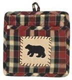 Park Designs Concord Bear Patch Potholder with Pocket