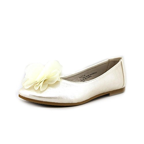 Swea Pea & Lilli Lucy Youth Girls Size 12 Ivory Flats Shoes from Swea Pea & Lilli