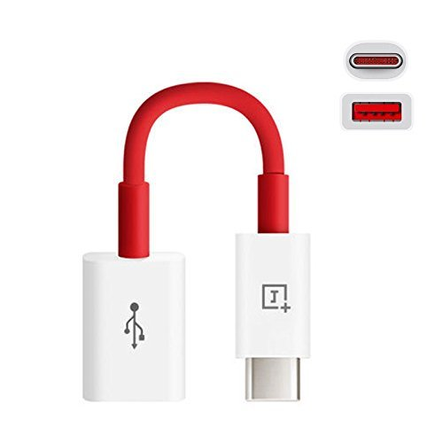 FONE BUDDY 3.1 USB Type C OTG Cable For One Plus 3 /3T  Red  Cables
