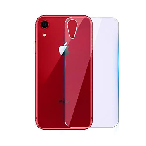 待つ調整するアルバニーiPhone XR 背面 ガラスフィルム 硬度9H 気泡防止 高透過率 耐指紋 撥油性 iPhone XR 6.1インチ背面