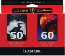 Lexmark 15M2327 Ginko Mono/Color (1 X 50, 1 X 60) (Lexmark Ink Cartridge 50 Black)