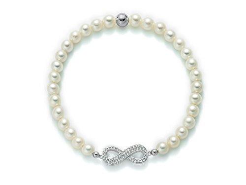 enorme sconto 26660 7cb7f Bracciale MILUNA di perle e argento 925 - PBR2001-TPZ