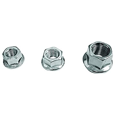 ACTION 3/8X26Tpi Flanged Hub Axle Nut: Automotive