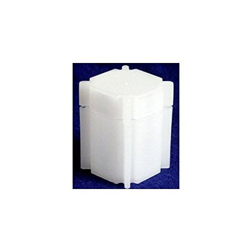 BCW Square Nickel Coin Tubes (10 Pack), White