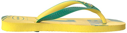 Pictures of Havaianas Teams Iii-Brazil Sandal Yellow/Green 9.5 M US 3
