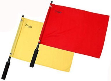 Champion Sports Official Solid Flag (Soccer Referee Flags)