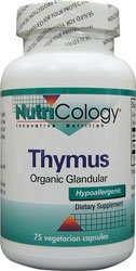 Nutricology Thymus 500Mg 75 Cap